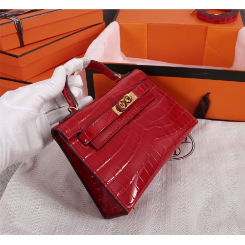 Replica Hermes AAA Quality Handbags For Women #834443 $125.00 USD for Wholesale