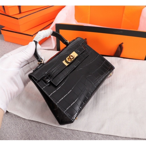 Replica Hermes AAA Quality Handbags For Women #834445 $125.00 USD for Wholesale