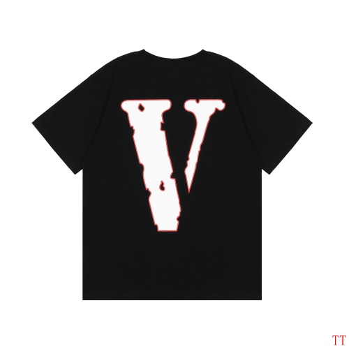 Replica Valentino T-Shirts Short Sleeved For Men #834453 $25.00 USD for Wholesale