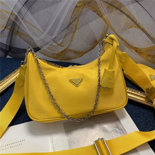 Prada AAA Quality Messeger Bags For Women #834473 $88.00, Wholesale Replica Prada AAA Quality Messeger Bags