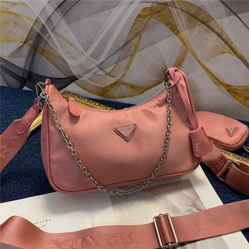 Prada AAA Quality Messeger Bags For Women #834475 $88.00, Wholesale Replica Prada AAA Quality Messeger Bags
