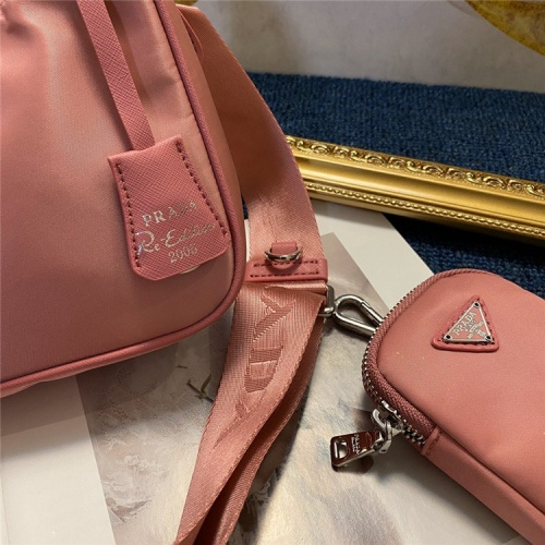 Replica Prada AAA Quality Messeger Bags For Women #834475 $88.00 USD for Wholesale
