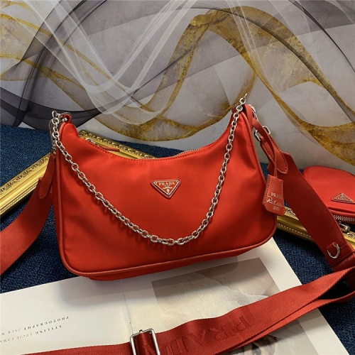 Prada AAA Quality Messeger Bags For Women #834476 $88.00, Wholesale Replica Prada AAA Quality Messeger Bags