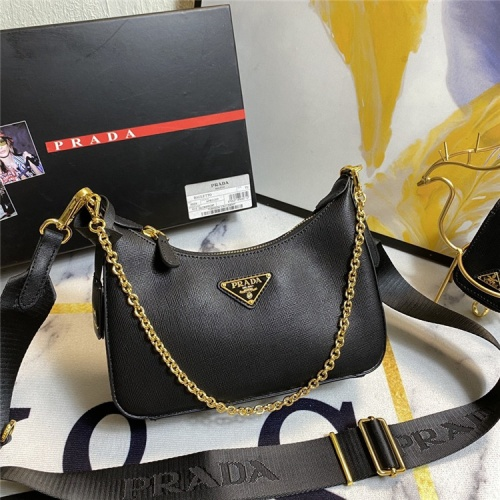 Prada AAA Quality Messeger Bags For Women #834478 $96.00, Wholesale Replica Prada AAA Quality Messeger Bags