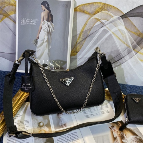 Prada AAA Quality Messeger Bags For Women #834480 $96.00, Wholesale Replica Prada AAA Quality Messeger Bags
