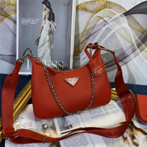Prada AAA Quality Messeger Bags For Women #834482 $96.00, Wholesale Replica Prada AAA Quality Messeger Bags