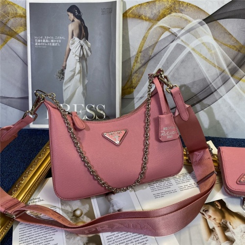 Prada AAA Quality Messeger Bags For Women #834483