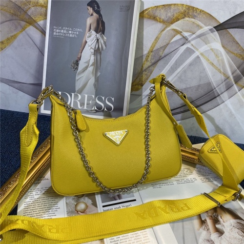 Prada AAA Quality Messeger Bags For Women #834484 $96.00, Wholesale Replica Prada AAA Quality Messeger Bags