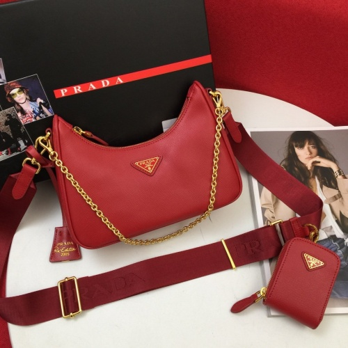 Prada AAA Quality Messeger Bags For Women #834502 $130.00, Wholesale Replica Prada AAA Quality Messeger Bags