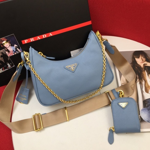 Prada AAA Quality Messeger Bags For Women #834504