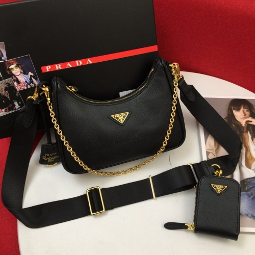 Prada AAA Quality Messeger Bags For Women #834505