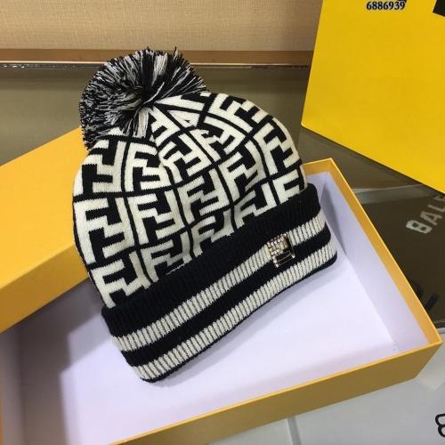 Replica Fendi Woolen Hats #834529 $32.00 USD for Wholesale