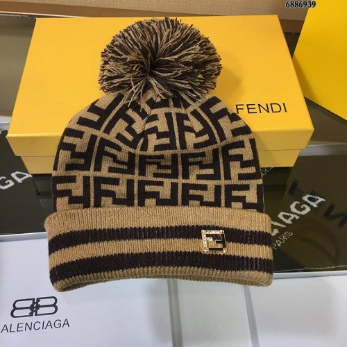 Fendi Woolen Hats #834530 $32.00 USD, Wholesale Replica Fendi Caps