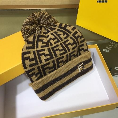 Replica Fendi Woolen Hats #834530 $32.00 USD for Wholesale