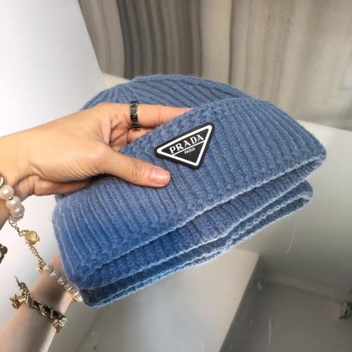 Replica Prada Woolen Hats #834541 $32.00 USD for Wholesale