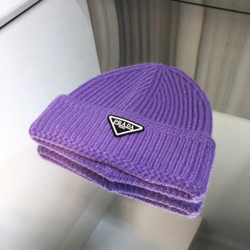 Prada Woolen Hats #834542 $32.00 USD, Wholesale Replica Prada Caps