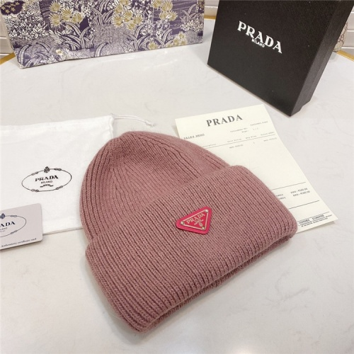 Replica Prada Woolen Hats #834547 $36.00 USD for Wholesale