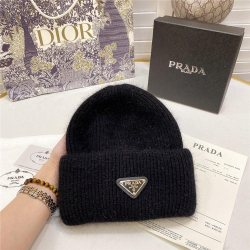 Prada Woolen Hats #834549 $36.00 USD, Wholesale Replica Prada Caps