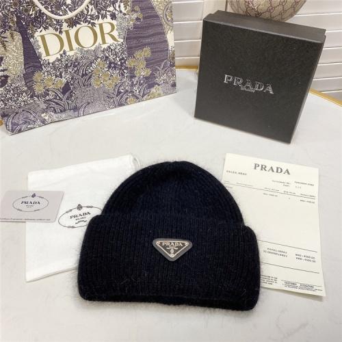 Replica Prada Woolen Hats #834549 $36.00 USD for Wholesale