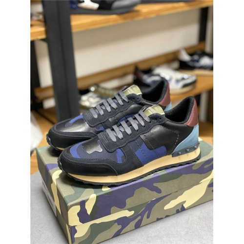 Valentino Casual Shoes For Men #834614 $80.00 USD, Wholesale Replica Valentino Casual Shoes