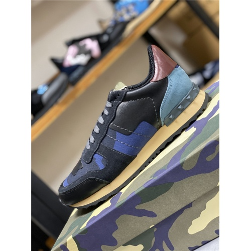 Replica Valentino Casual Shoes For Men #834614 $80.00 USD for Wholesale