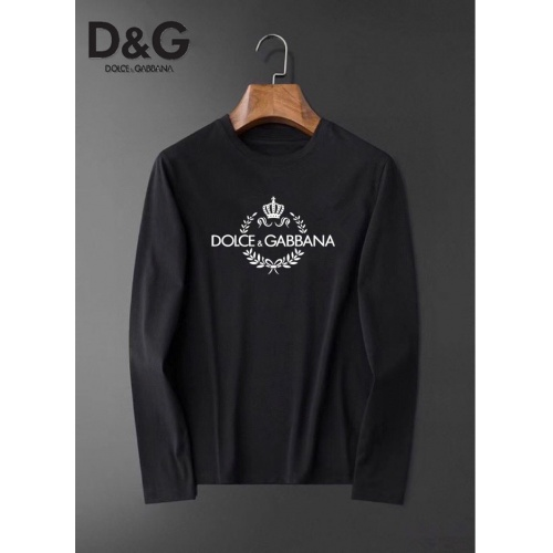 Dolce & Gabbana D&G T-Shirts Long Sleeved For Men #834675 $34.00, Wholesale Replica Dolce & Gabbana D&G T-Shirts