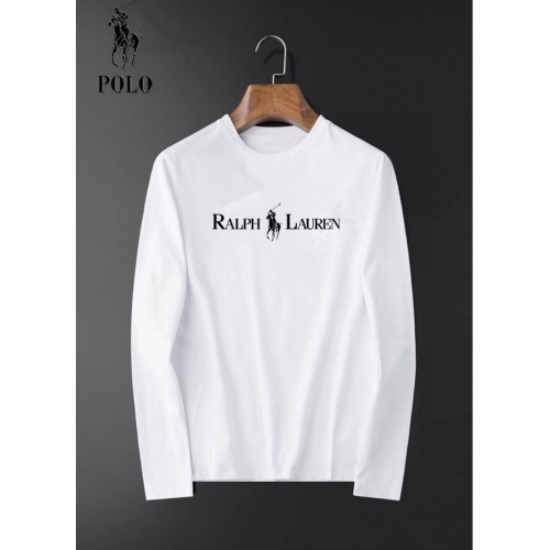 Ralph Lauren Polo T-Shirts Long Sleeved For Men #834680