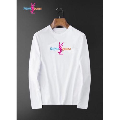 Yves Saint Laurent YSL T-shirts Long Sleeved For Men #834682