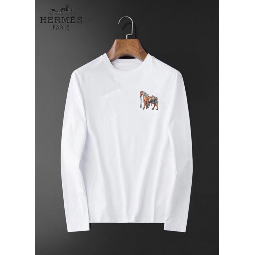 Hermes T-Shirts Long Sleeved For Men #834684