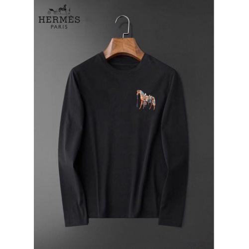 Hermes T-Shirts Long Sleeved For Men #834685