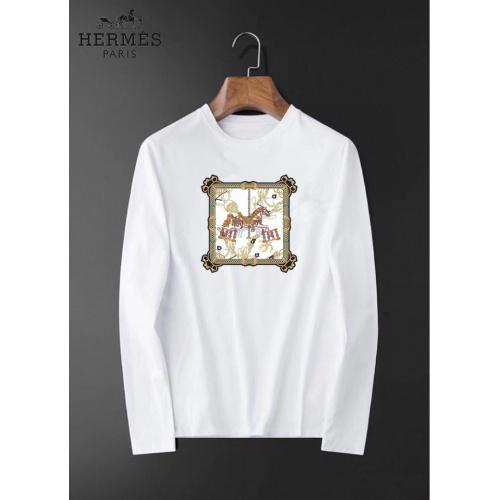 Hermes T-Shirts Long Sleeved For Men #834686