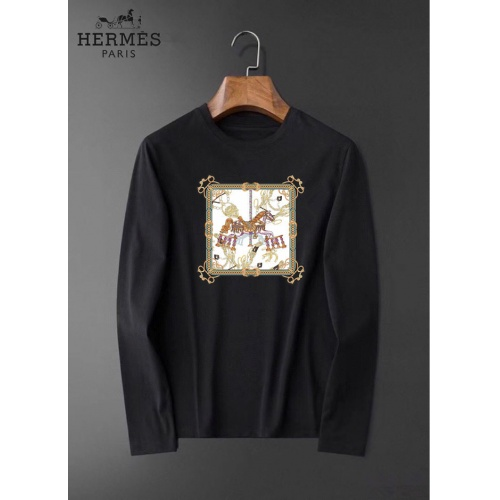 Hermes T-Shirts Long Sleeved For Men #834687