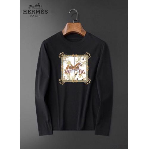 Hermes T-Shirts Long Sleeved For Men #834687