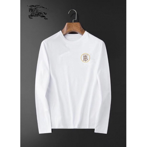 Burberry T-Shirts Long Sleeved For Men #834688