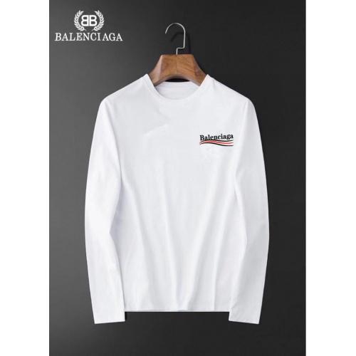 Balenciaga T-Shirts Long Sleeved For Men #834690 $34.00, Wholesale Replica Balenciaga T-Shirts