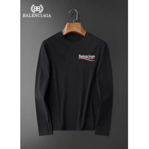 Balenciaga T-Shirts Long Sleeved For Men #834691 $34.00, Wholesale Replica Balenciaga T-Shirts