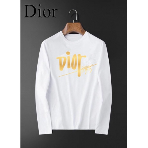 Christian Dior T-Shirts Long Sleeved For Men #834692