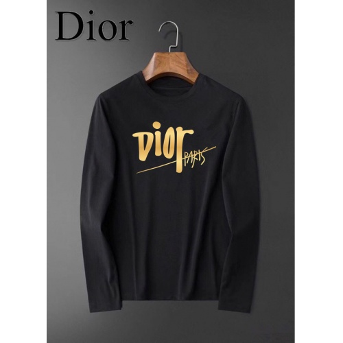 Christian Dior T-Shirts Long Sleeved For Men #834693