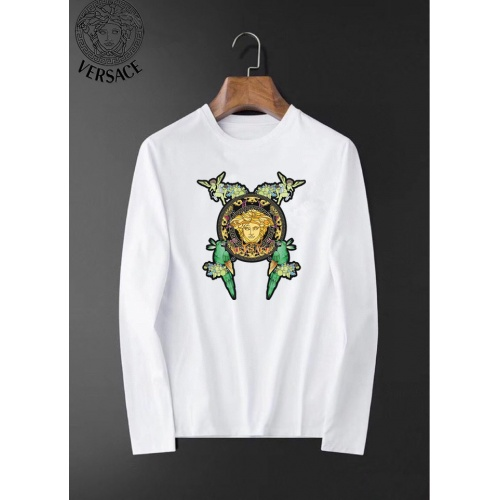 Versace T-Shirts Long Sleeved For Men #834694