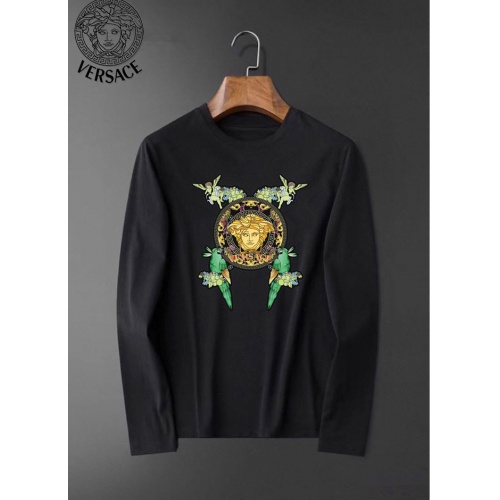 Versace T-Shirts Long Sleeved For Men #834695