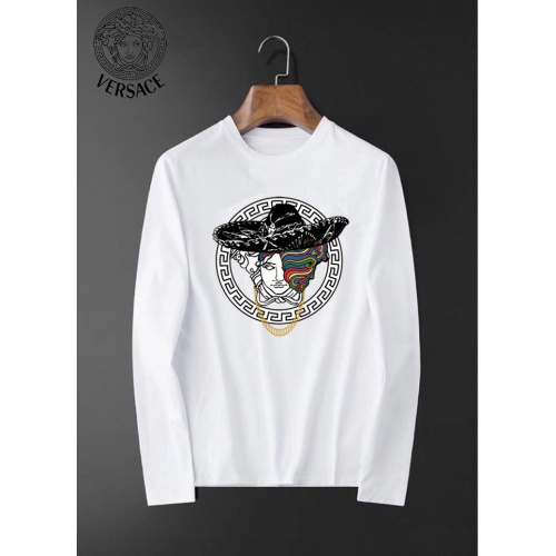 Versace T-Shirts Long Sleeved For Men #834696