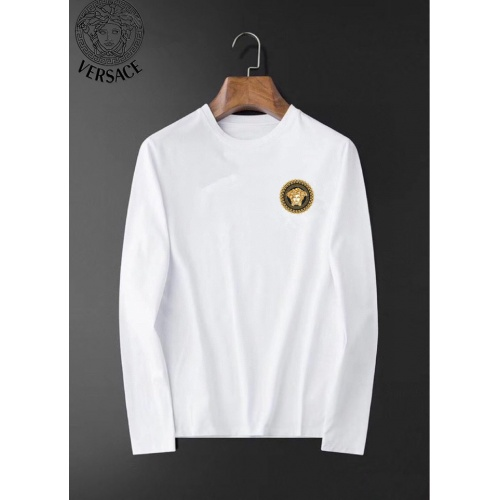 Versace T-Shirts Long Sleeved For Men #834698