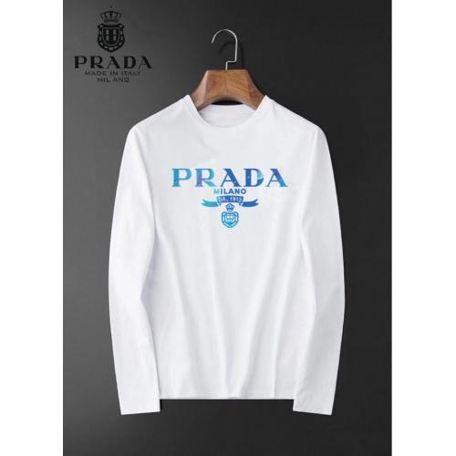 Prada T-Shirts Long Sleeved For Men #834704