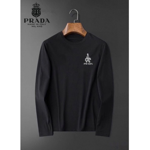 Prada T-Shirts Long Sleeved For Men #834707