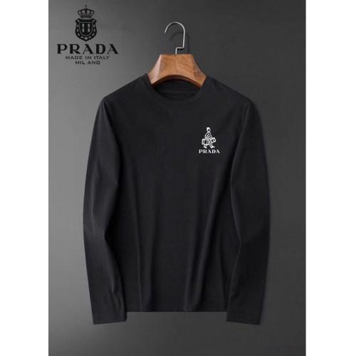Prada T-Shirts Long Sleeved For Men #834707