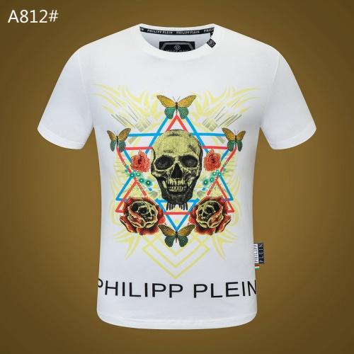 Philipp Plein PP T-Shirts Short Sleeved For Men #834783 $29.00, Wholesale Replica Philipp Plein PP T-Shirts