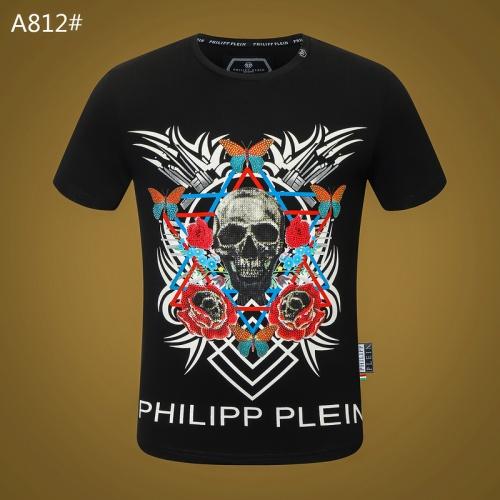 Philipp Plein PP T-Shirts Short Sleeved For Men #834784 $29.00, Wholesale Replica Philipp Plein PP T-Shirts
