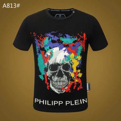 Philipp Plein PP T-Shirts Short Sleeved For Men #834786 $29.00, Wholesale Replica Philipp Plein PP T-Shirts