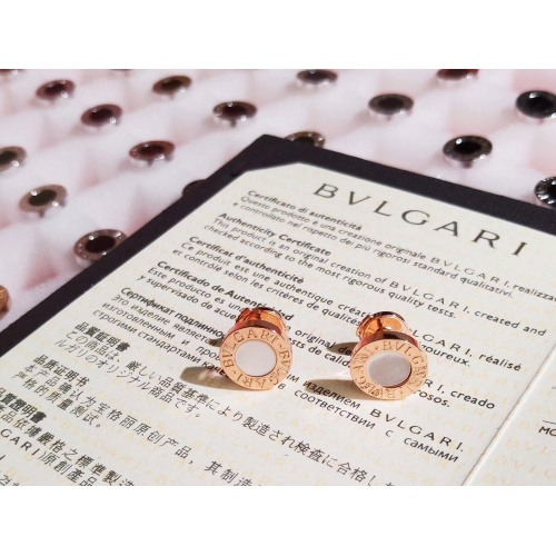 Replica Bvlgari Earrings For Women #834816 $36.00 USD for Wholesale