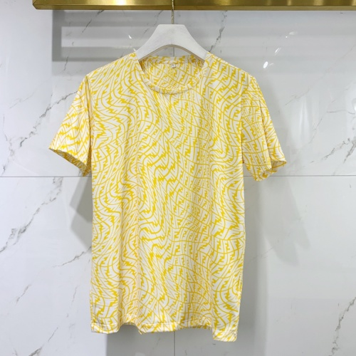 Fendi T-Shirts Short Sleeved For Men #834825 $40.00, Wholesale Replica Fendi T-Shirts